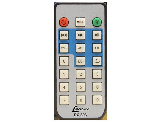CAIXA AMPLIFICADORA 40W COM RÁDIO FM DIGITAL, MP3, ENTRADAS USB, MICRO SD E AUXILIAR LENOXX SOUND  - Mix Eletro