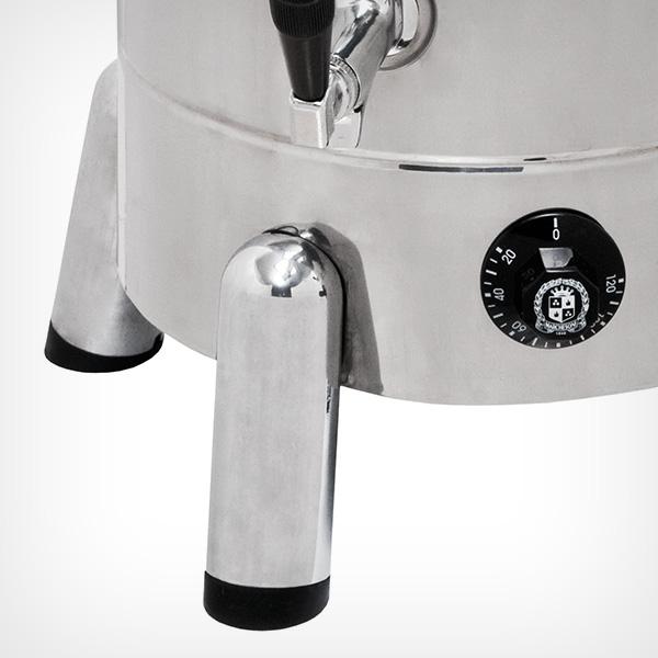 Cafeteira elétrica profissional em aço inox Tradicional 10L Marchesoni  - Mix Eletro