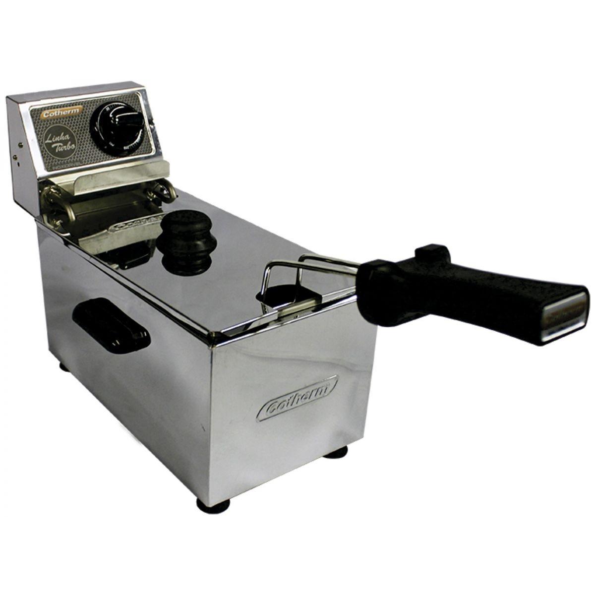Fritadeira Elétrica 3 Litros 1 cuba Linha Turbo 2500W 220V Cotherm  - Mix Eletro
