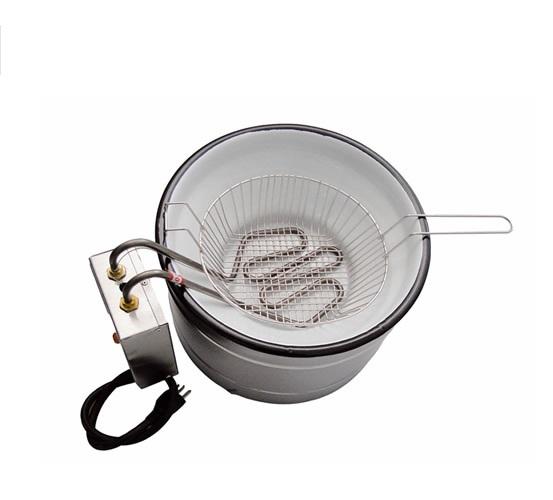 Fritadeira pastel e churros Tacho de Fritura Elétrico 3L  Italinox  - Mix Eletro