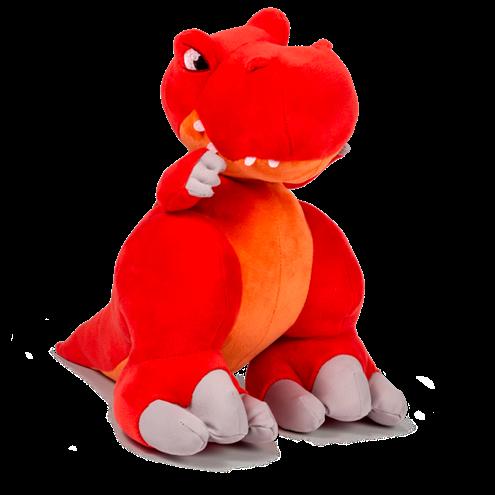 Pelúcia Dinossauro com Som Slash Thunder Stompers Tiranossauro Rex - Multikids BR357  - Mix Eletro