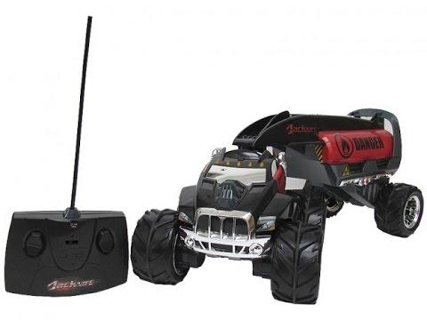 Caminhão Tanque de Controle Remoto Jacknife Vermelho Multikids - BR366   - Mix Eletro