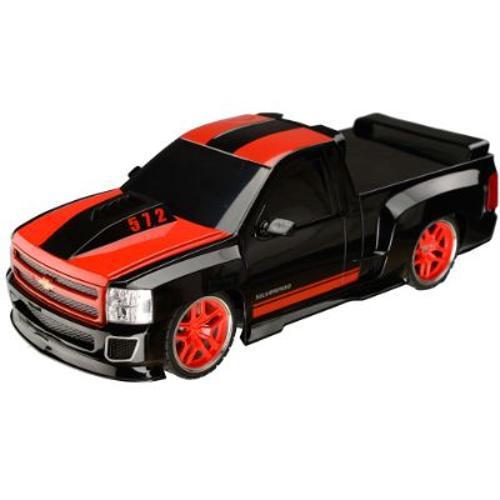Pick Up Chevrolet Silverado Carrinho De Controle Remoto 1:18 -BR451  - Mix Eletro