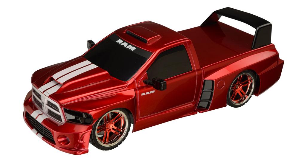 Pick Up Dodge Ram Carrinho De Controle Remoto 1:18 -BR453  - Mix Eletro
