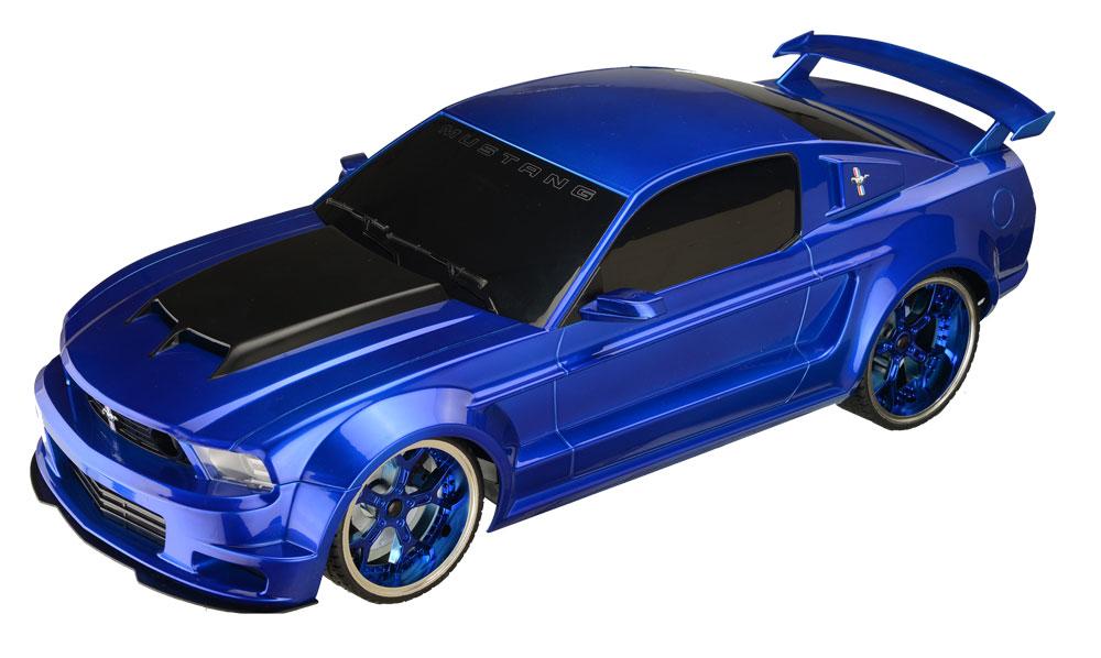 Ford Mustang Carrinho De Controle Remoto 1:18 -BR456   - Mix Eletro