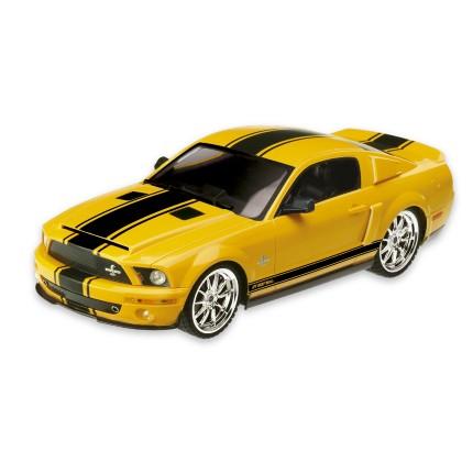 Ford Shelby GT-500 Super Snake Carrinho De Controle Remoto 1:18 -BR450  - Mix Eletro