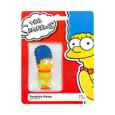 Pendrive 8GB Colecionável SIMPSONS - MARGE PD073  - Mix Eletro