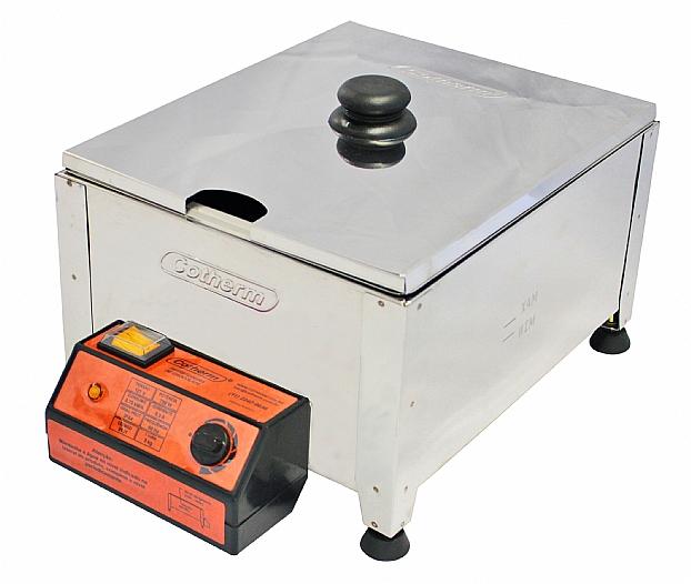 Derretedeira de chocolate Profissional 1 cuba 5Kg COTHERM  - Mix Eletro
