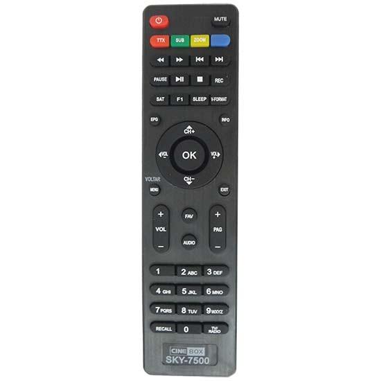 Controle remoto receptor Cinebox Fantasia / Supremo / Optmo  - Mix Eletro