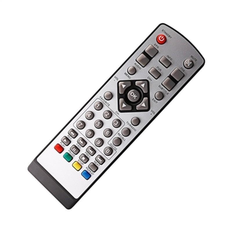 Controle Remoto para Conversor de TV Digital Tomate MCD888  - Mix Eletro