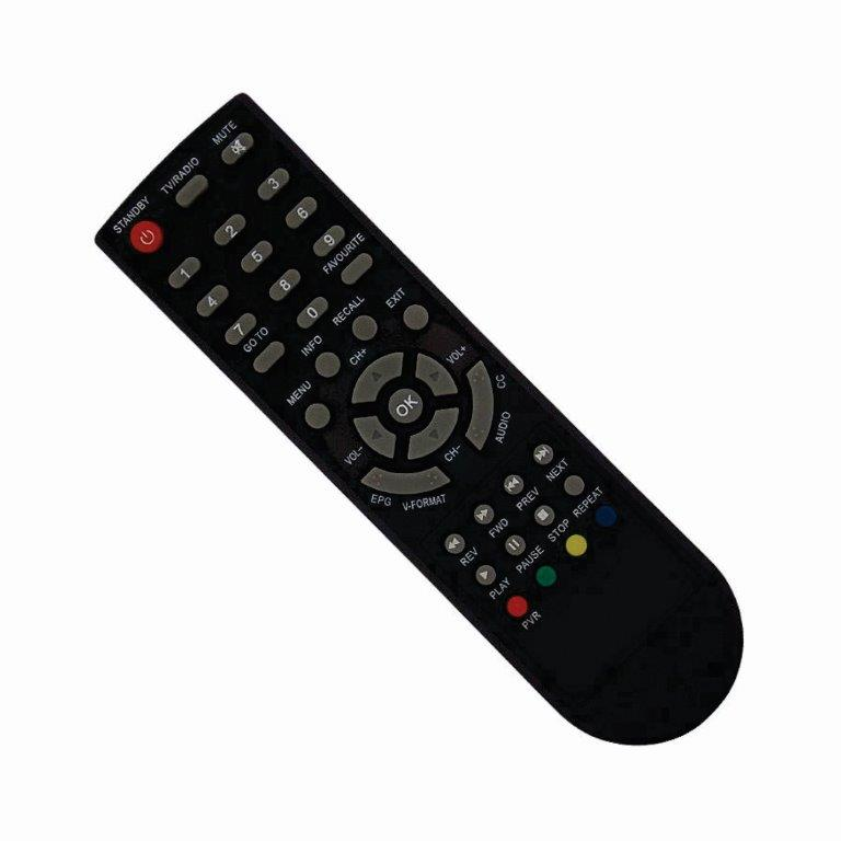 Controle Remoto Conversor Digital Aquário DTV-8000  - Mix Eletro