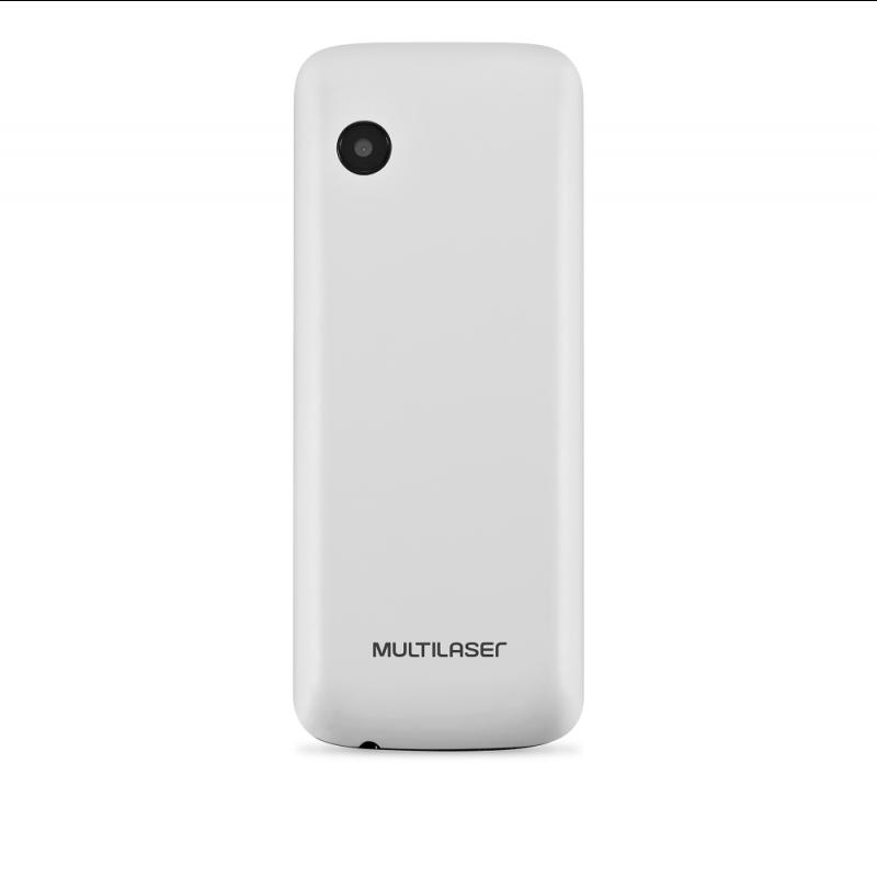 Celular New Up Dual chip com câmera Bluetooth MP3 Branco Multilaser - P9033  - Mix Eletro