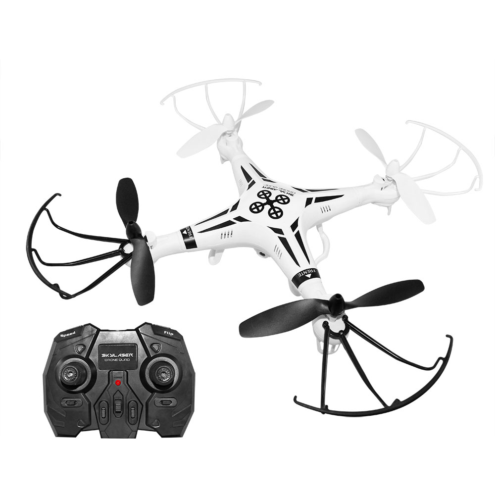 DRONE SKYLASER QUADRICÓPTERO COM CÂMERA HD MULTILASER - BR385  - Mix Eletro