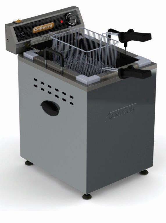 Fritadeira Elétrica Industrial 25 litros água e óleo Bancada Cotherm 220V  - Mix Eletro
