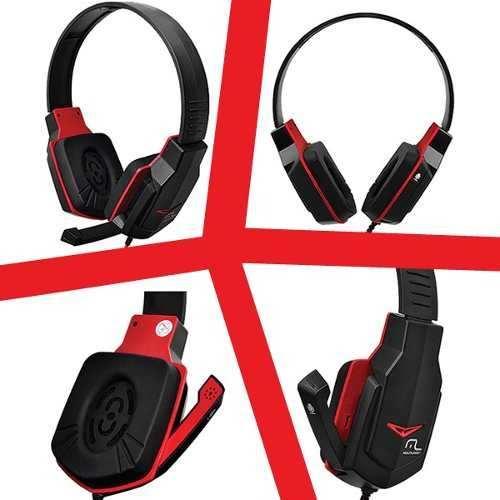 Fone De Ouvido Headset Gamer Com Microfone Retrátil Ph073 Multilaser  - Mix Eletro