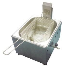 Fritadeira profissional Gás 5 Litros - Ital Inox  - Mix Eletro