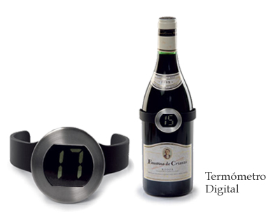 Termômetro Digital Para Garrafas de vinho Mimo Style  - Mix Eletro