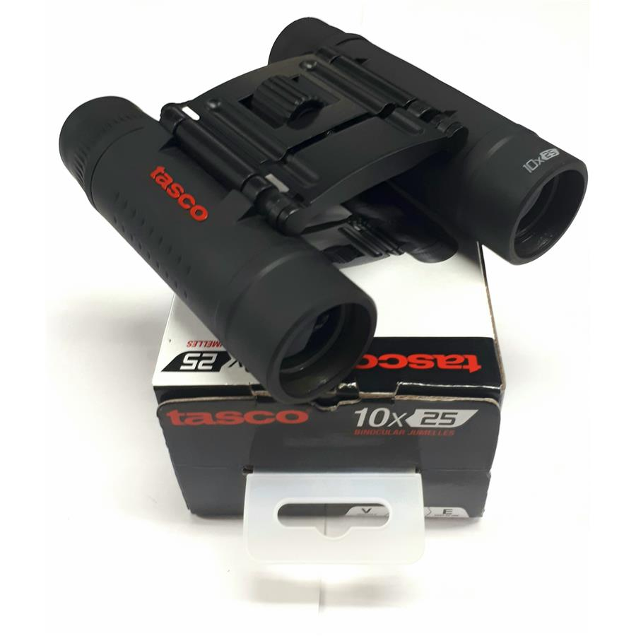 Binóculo Tasco Compact 10x25mm Original 168125  - Mix Eletro