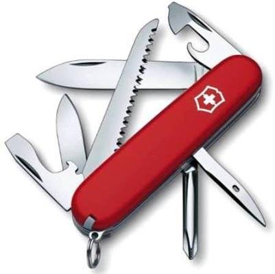 Canivete Suíço Hiker Victorinox Vermelho 13 funções Original  - Mix Eletro