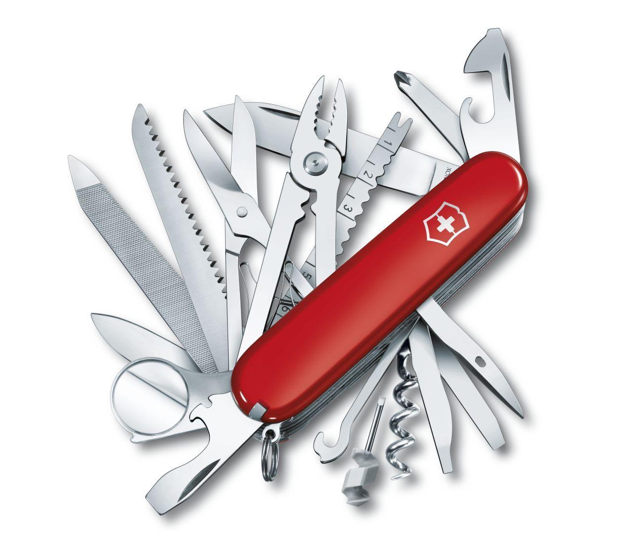 Canivete Suíço Victorinox Swisschamp Vermelho 33 funções Original.  - Mix Eletro