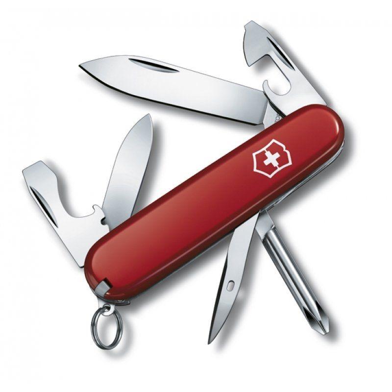 Canivete Suíço Victorinox Tinker Small Vermelho 12 funções Original 0.4603  - Mix Eletro