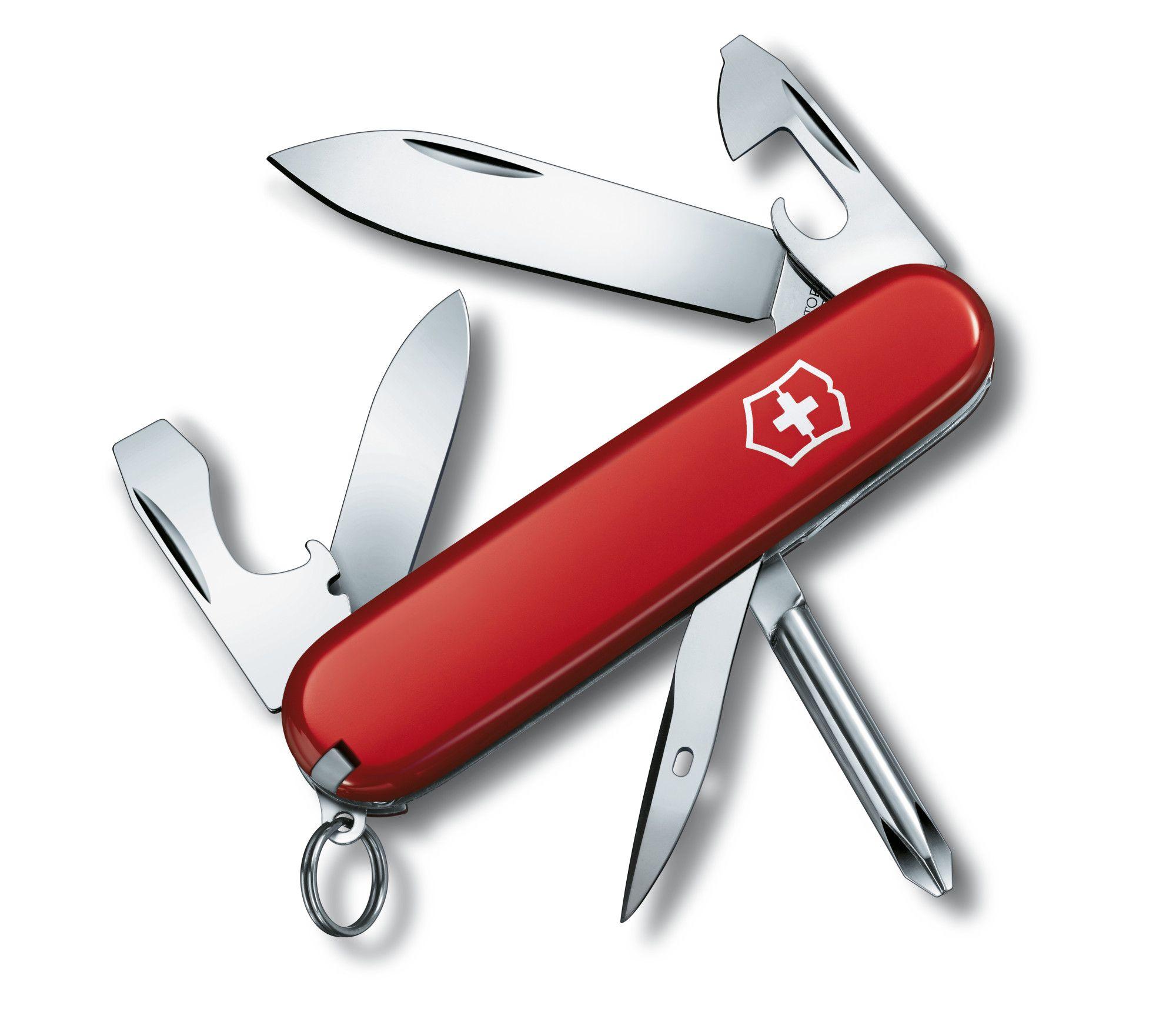 Canivete Suíço Victorinox Tinker Vermelho 12 funções Original 1.4603  - Mix Eletro