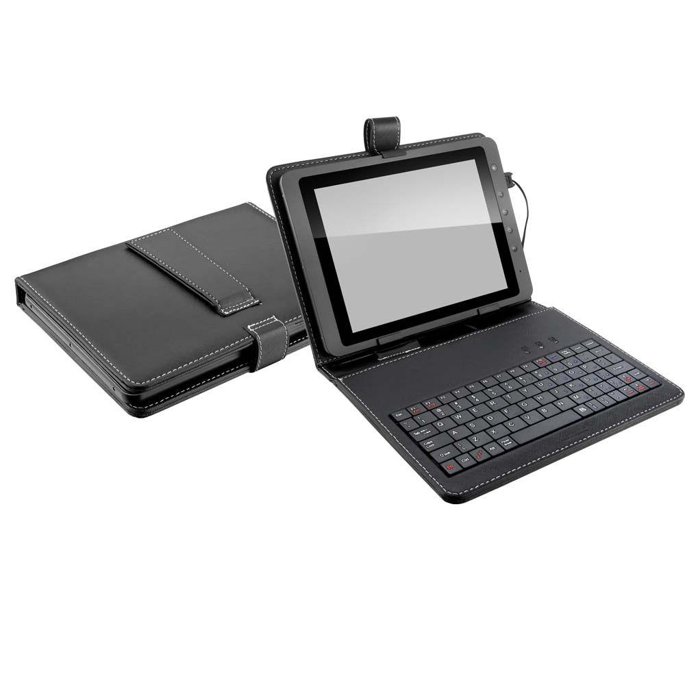 """Case Teclado e Suporte Multilaser para Tablet 9,7""""Pol. 3 em 1 Preto – TC157  - Mix Eletro"""