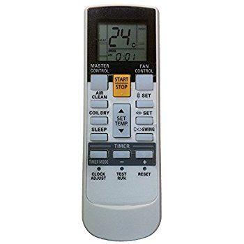 Controle Remoto para uso no Ar Condicionado Split Inverter Fujitsu AR-RY12  - Mix Eletro