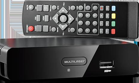 Conversor De sinal Tv Digital Hd E Gravador Multilaser - Re207  - Mix Eletro