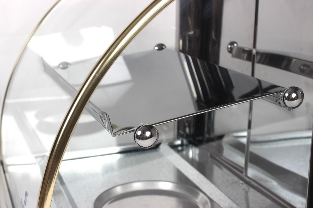 Estufa para salgados elétrica Dupla com 4 Bandejas Supritecs  - Mix Eletro