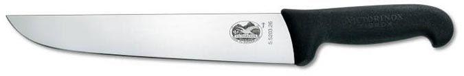 Faca profissional Açougueiro Cabo Fibrox 31cm Victorinox  - Mix Eletro