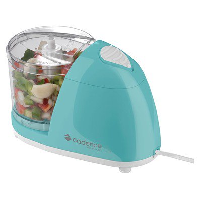 Mini Processador de Alimentos Cadence Easy Cut Colors MPR513 100W Azul 220V  - Mix Eletro