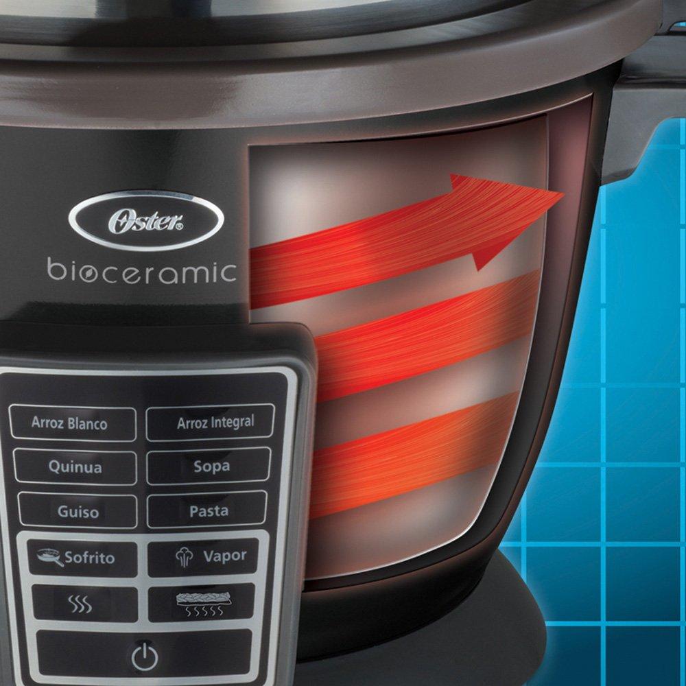 Panela Elétrica Multi Gourmet Oster Bioceramic 2,2L Preta – Oster  - Mix Eletro