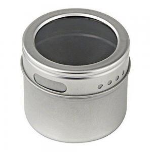 Porta Temperos e Condimentos Magnético 06 unidades Aço inox com Suporte  - Mix Eletro