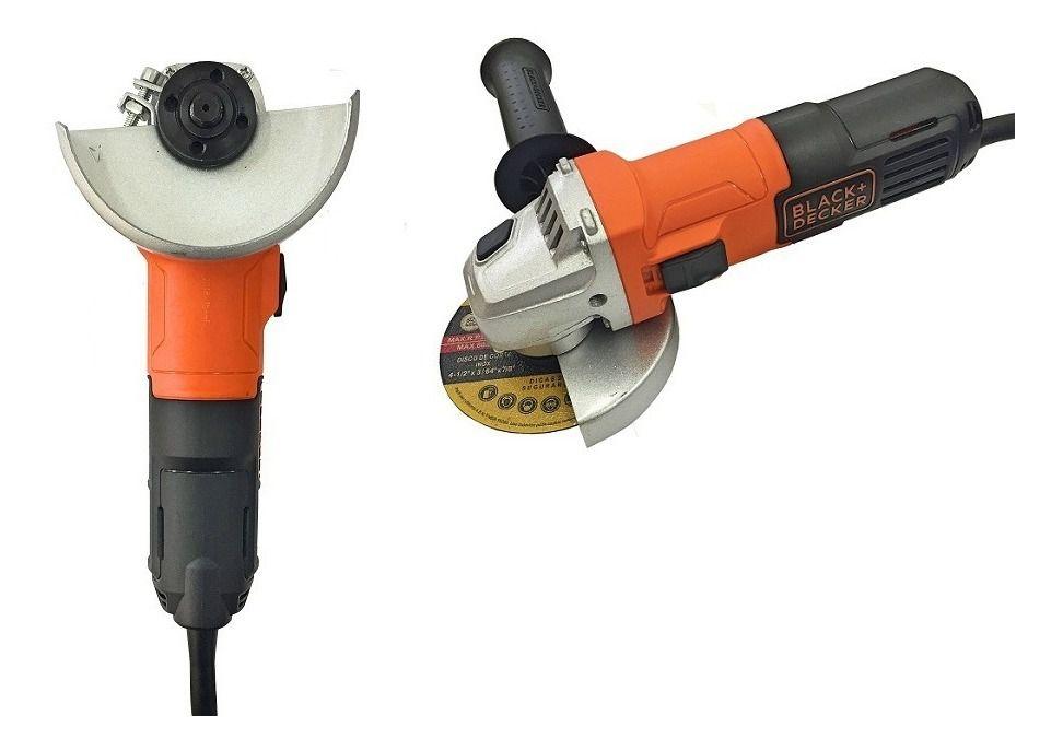 ESMERILHADEIRA 4 1/2 - 650W - G650 - B+D 220 VOLTS  - Raio Casa Construção e Ferramentas