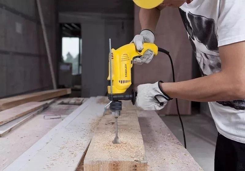 FURADEIRA IMP REV 1/2 600W - SDH600 - STANLEY - 220 VOLTS  - Raio Casa Construção e Ferramentas