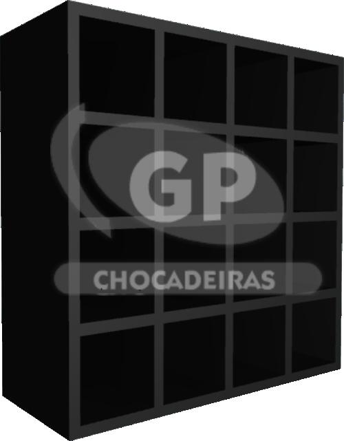 NICHO TOALHEIRO 16 ESPAÇOS