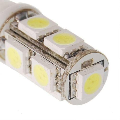 Lâmpada Led 12V Tipo 69 Importado 9 Leds (Par) Amarelo  - BEST SALE SHOP