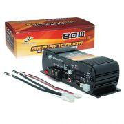 Amplificador Módulo Potência Digital Infratron INF-80W2 80w Rms 2 Canais Stereo