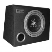 Caixa Som Automotivo Amplificada Subwoofer 8 200W Rms Corzus CXS200-8 com Módulo Mono