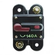Disjuntor Automotivo 140A Tech One Proteção Som Resetável Liga Desliga