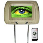 Encosto Cabeça Tela Monitor Escravo Tech One Standard Bege