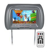 Encosto Cabeça Tela Monitor Usb SD IR Tech One Standard Grafite