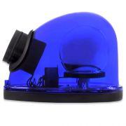 Giroflex Sinalizador Luz Emergência 12V Com Sirene Tech One T1GFCSAZ Azul