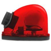 Giroflex Sinalizador Luz Emergência 12V Com Sirene Tech One T1GFCSVM Vermelho