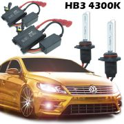 Kit Xenon Carro 12V 35W Hb3-9005 4300K