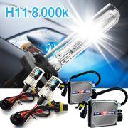 Kit Xenon Carro 12V 35W Importway H11 8000K