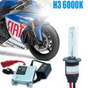 Kit Xenon Moto 12V 35W H3 6000K