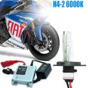 Kit Xenon Moto 12V 35W H4-2 6000K
