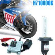 Kit Xenon Moto 12V 35W H7 10000K